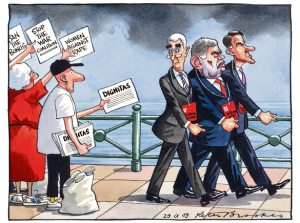 Peter Brookes from the Times 29 September 2009